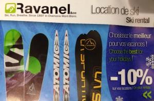 Ravanel Ski Shop les Praz
